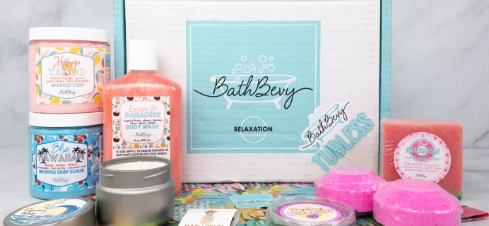 Bath Bevy TUBLESS BOX Review + Coupon – June 2021