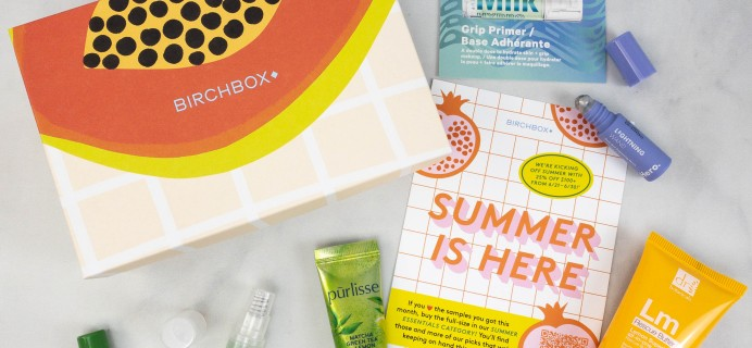 Birchbox Subscription Box Review + Coupon – June 2021 Clean Beauty Curated Box