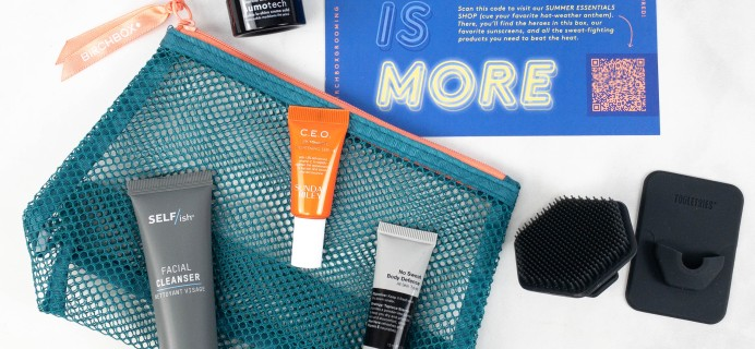 Birchbox Grooming Review – July 2021