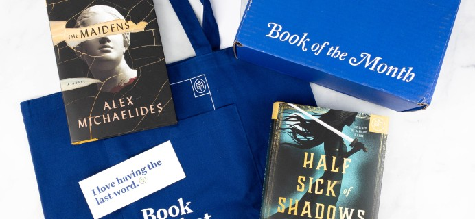 Book of the Month June 2021 Subscription Box Review + Coupon