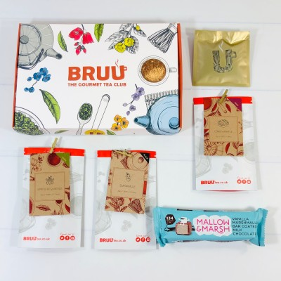 BRUU The Gourmet Tea Club June 2021 Subscription Box Review