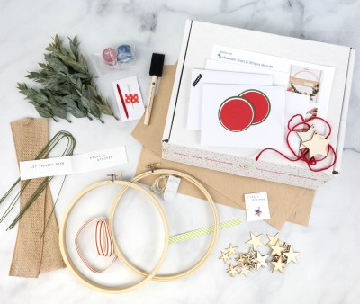 Confetti Grace May-June 2021 Craft Subscription Box Review