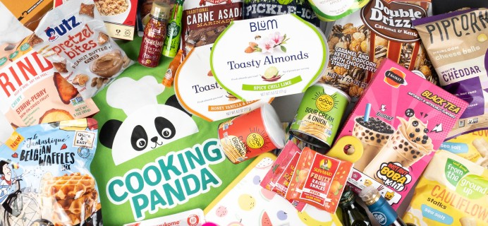 Cooking Panda Box Summer 2021 Review
