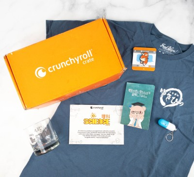 """Crunchyroll Crate """"SCIENCE"""" May 2021 Subscription Box Review"""