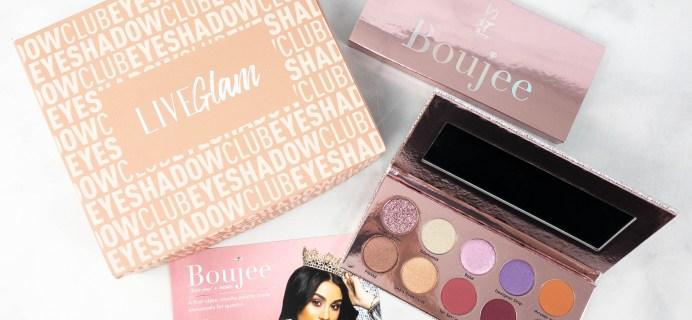 LiveGlam Eyeshadow Club Boujee Palette + Coupon