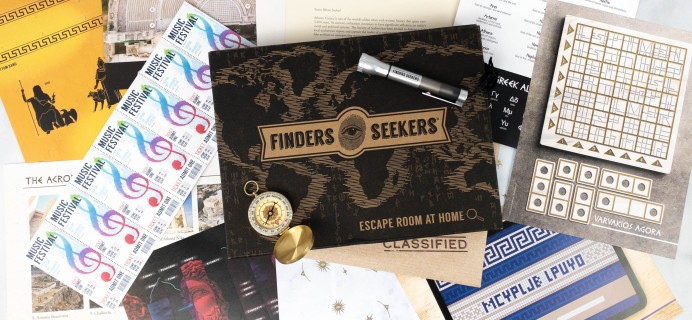 Finders Seekers Subscription Box Review + Coupon – GREECE
