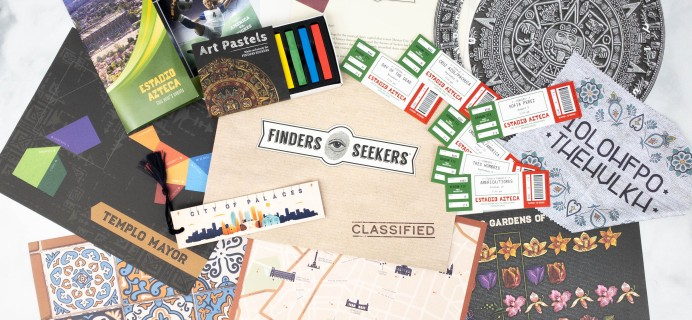 Finders Seekers Subscription Box Review + Coupon – MEXICO CITY