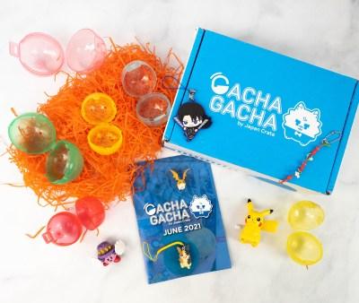 Gacha Gacha Crate Review + Coupon: June 2021