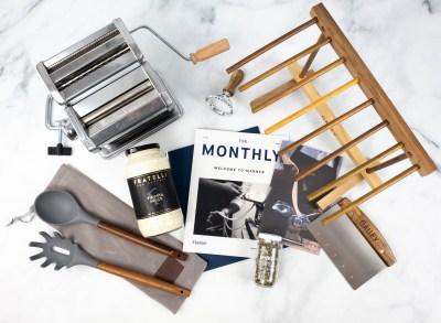 Manner Subscription Box Review: Pasta a Casa