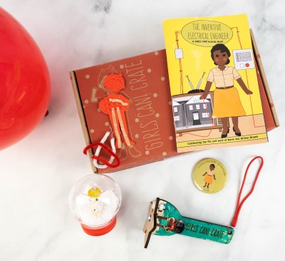Girls Can! Crate Subscription Box Review + Coupon – THE INVENTIVE ELECTRICAL ENGINEER