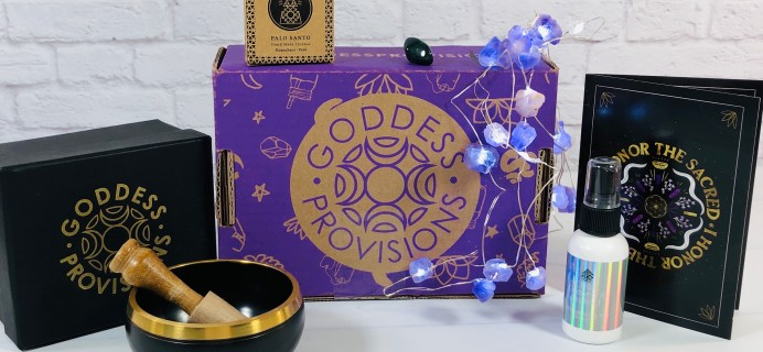 Goddess Provisions June 2021 Subscription Box Review