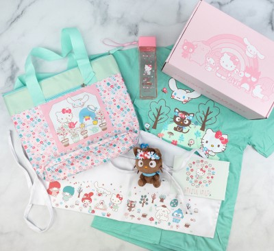 Hello Kitty and Friends Box Review + Coupon – April 2021