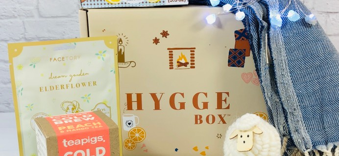Hygge Box Review – June 2021 Deluxe Box