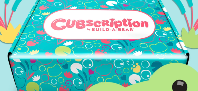 Cubscription by Build-A-Bear Summer 2021 Spoiler #3!