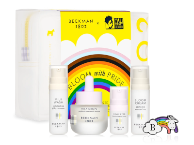 Beekman 1802 Bloom With Pride Skincare Starter Kit Is Here To Celebrate Good Skin This Pride Month!