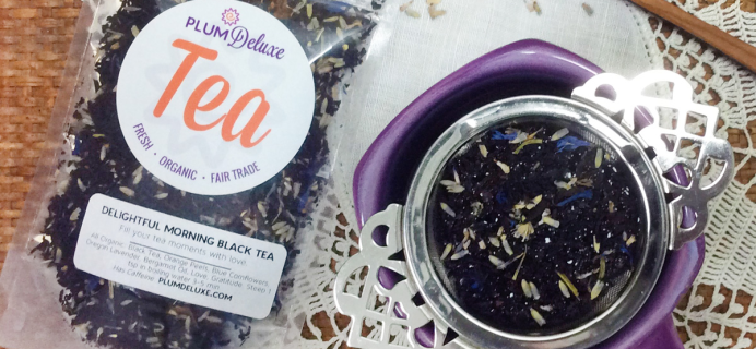 Plum Deluxe Tea Of The Month: Get Up To 30% Off On Earl Grey Teas!