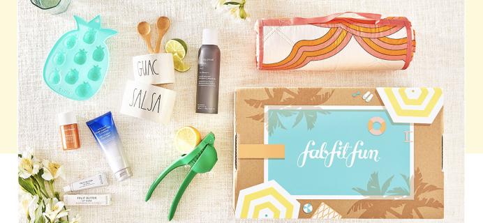 FabFitFun Summer Sale: 20% Off First Box + FREE Mystery Bundle!