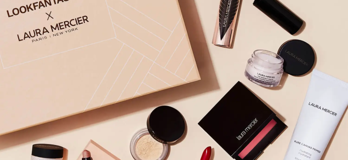 Look Fantastic x Laura Mercier Limited Edition Beauty Box: 8 Best-Selling Products! Full Spoilers!