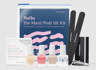 The Mani/Pedi 101 Kit – New Birchbox Kit with Tweezerman and Tenoverten!