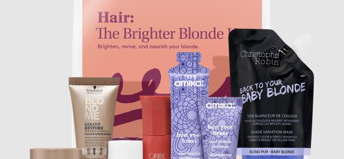 The Brighter Blonde Kit – New Birchbox Kit!