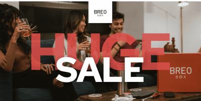 Breo Box Flash Sale: Get $25 Off Your First Box – TODAY ONLY!
