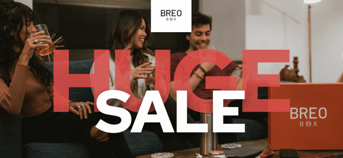 Father's Day: Give a Breo Box Subscription OR Gift Box + $25 Off Coupon!