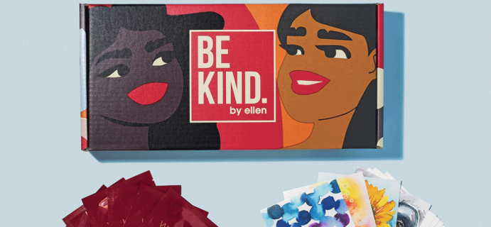 BE KIND by Ellen Box Sale: Get A Past Box For Just $15!