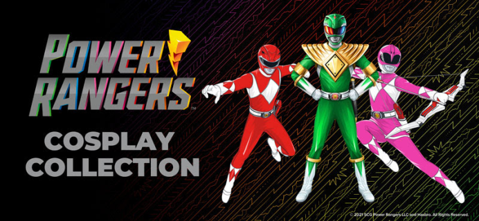Loot Crate Limited Edition Power Rangers cosPLAY Collection Available Now!