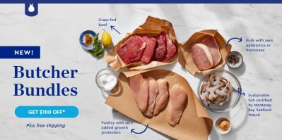 Blue Apron Butcher Bundles + Flash Sale: Get $100 Off!