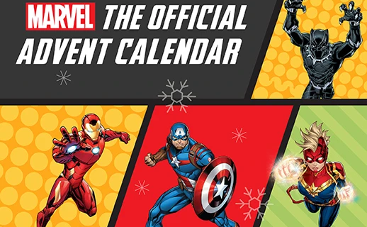 2021 Marvel Official Advent Calendar: 25 Holiday Themed Marvel Keepsakes + Spoilers!