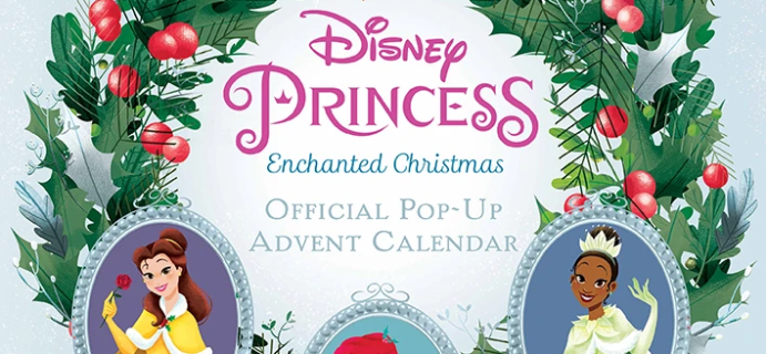 2021 Disney Princess Enchanted Christmas Official Pop Up Advent Calendar Available Now For Preorder!