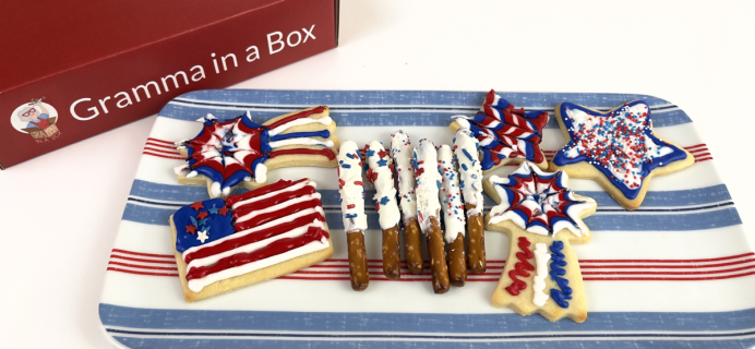 Gramma in a Box: Make Patriotic Treats & Cookies this July!
