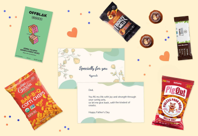 Vegancuts Limited Edition Father's Day Gift Box: The Ultimate Snack Gift Box For Dads!