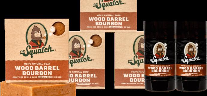 Dr. Squatch: $14 Off Limited Edition Bundle O' Bourbon!