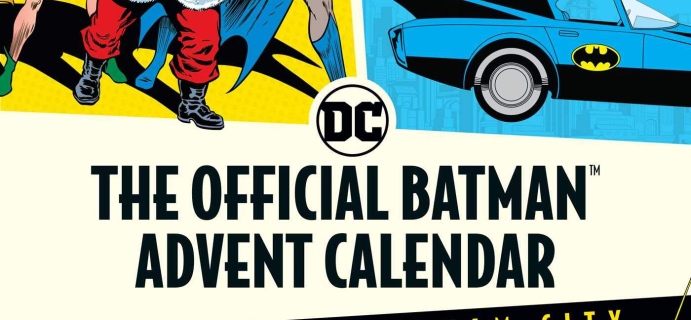 2021 Official Batman Christmas in Gotham City Advent Calendar Available Now For Preorder!
