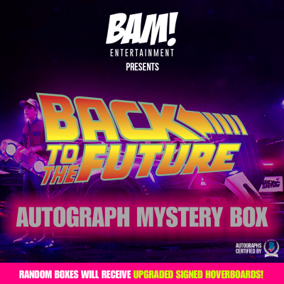 The BAM! Box Launches Limited Edition Autograph Mystery Box: Back To The Future Vol. 2 Box Available Now!