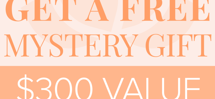 The Box by Dr. Ava Coupon: FREE Mystery Gift With Subscription!