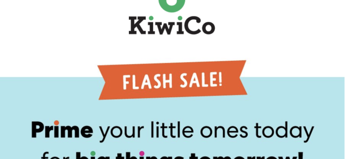 KiwiCo Prime Day Sale: Get Up To Four Months FREE!