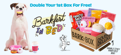 BarkBox Deal: Double Your First Box for FREE!