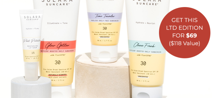 Beauty Heroes Launches Solara Limited Edition Discovery Box: Essential Summer SPFs!