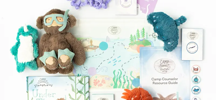 Camp Slumberkins Under The Sea: Fun at Home Summer Learning Activities!