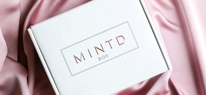 MINTD Box August 2021 Full Spoilers!