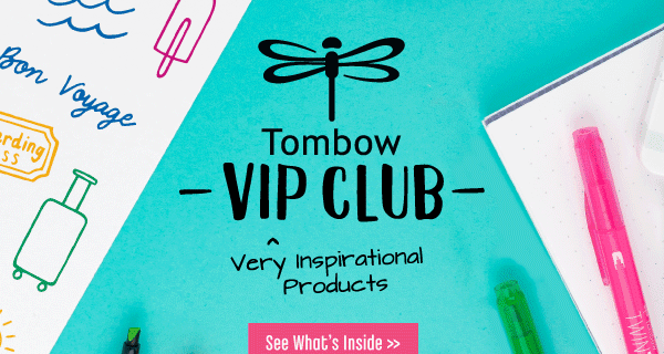 Tombow VIP Club Creativity Kit Available Now + July 2021 Creative Notetaking Kit Full Spoilers!