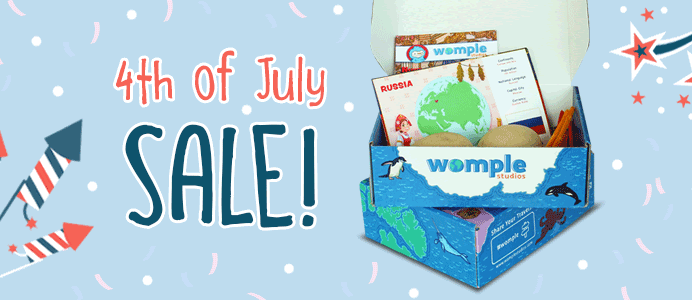 WompleBox Fourth of July Coupon: Get your first box FREE!