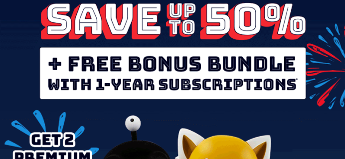 Loot Crate Fourth of July Sale: Get Up To 50% + FREE Bonus Bundle!