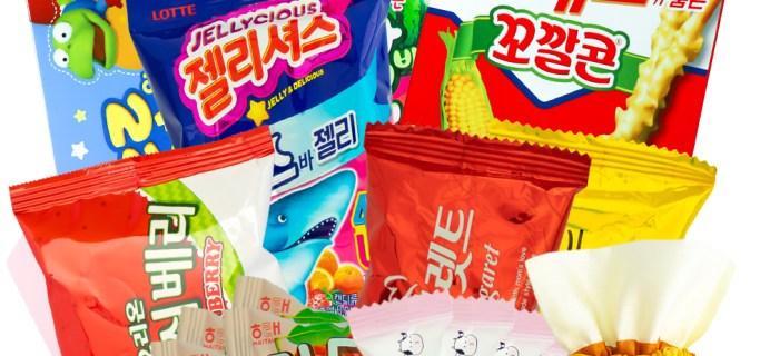 Korean Snack Box July 2021 FULL Spoilers + Coupon!
