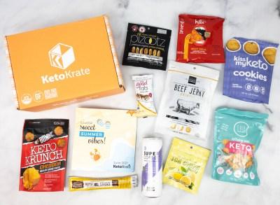KetoKrate June 2021 Subscription Box Review + Coupon