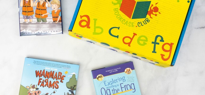 Kids BookCase Club June 2021 Subscription Box Review + 50% Off Coupon! GIRLS 7-8 YEARS OLD