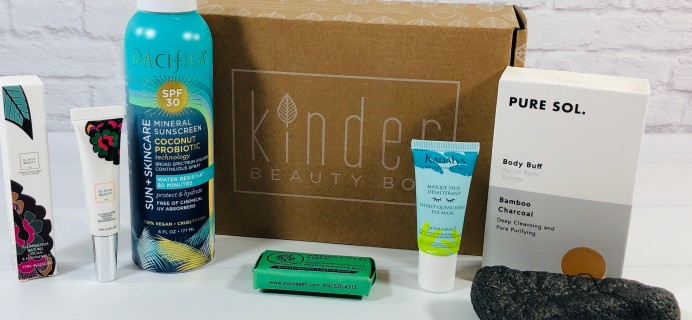 Kinder Beauty Box June 2021 Review + Coupon – SILVER LINING