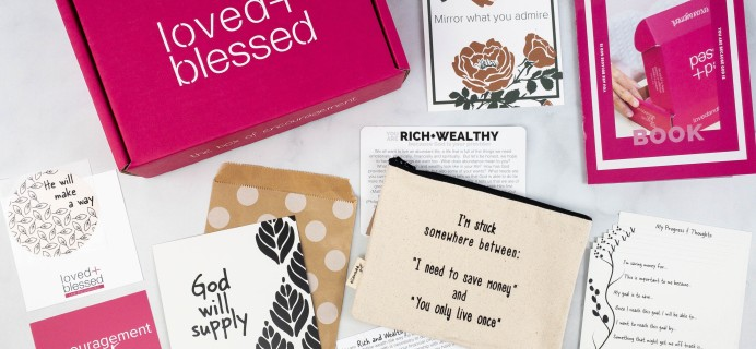 Loved+Blessed Review + Coupon – June 2021